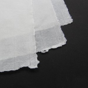 Offwhite Pale, Antique laid, Guarding tissue 25 g/m²